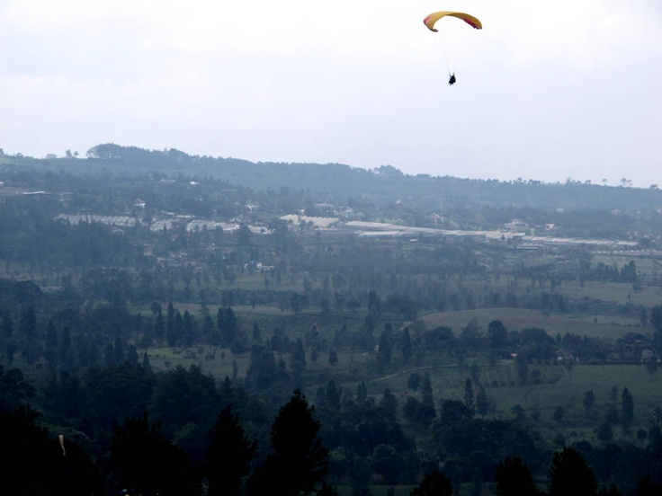 Paralayang at puncak