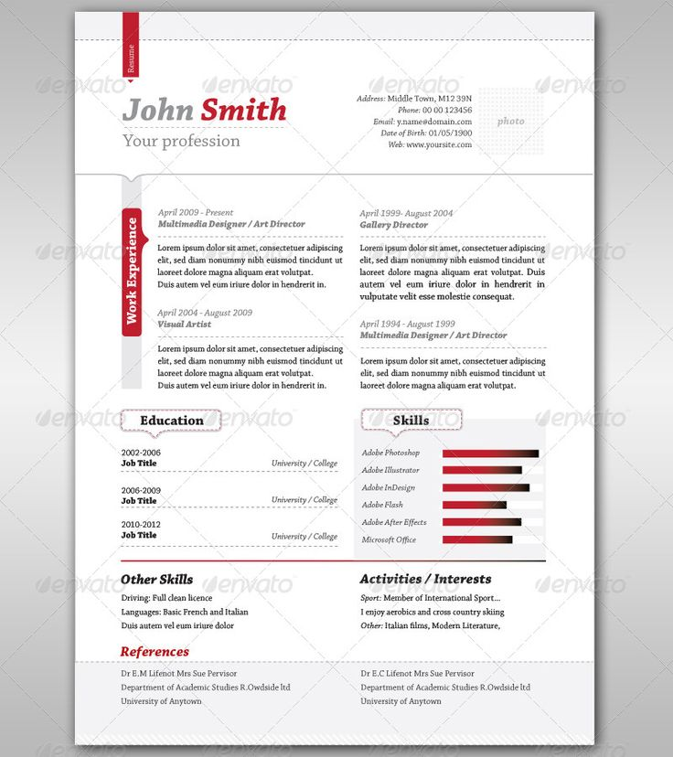 9 best plantillas images on Pinterest | Curriculum, Resume and ...