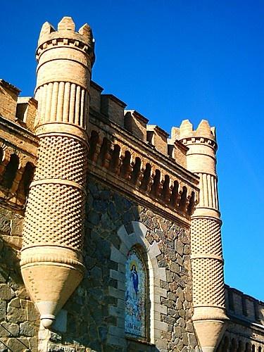 Toledo, España  Almenas Portal Alcazar  Por RS-Camaleon
