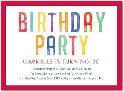 95 best ideas: anniversaries and adult birthdays and party designs, Birthday invitations