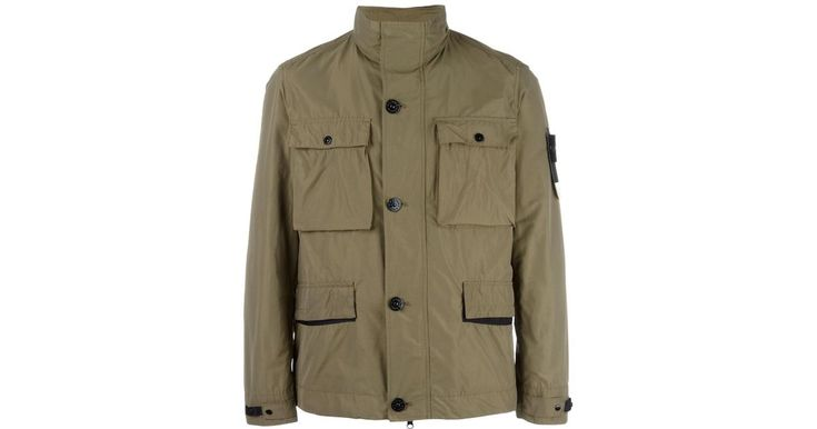 Buy Stone Island Men's Green Nylon Field Jacket, starting at €413. Similar products also available. SALE now on!