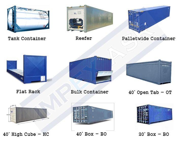 tehlikeli madde konteyner tipleri