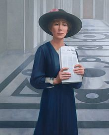 Jeannette Rankin - First woman in congress; only woman allowed to vote for the 19th Amendment
