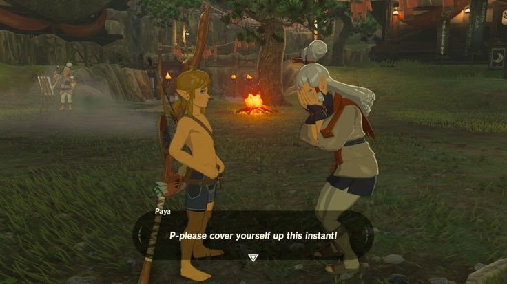 Aaahhh that's so funny! I can't wait to go around doing this to different NPCs