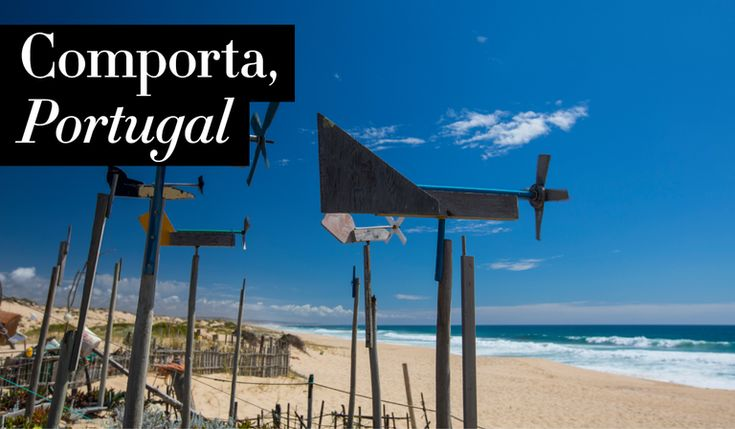 """Comporta, #Portugal is one of the """"2018 Best Honeymoon Destinations"""" according to Harpers Bazar Magazine  29/12/2017  we suggest newlyweds turn their sights on this seaside getaway. Just an hour south of Lisbon, this cluster of villages is often referred to as """"the Hamptons of Portugal,"""" with high profile names like Christian Louboutin, Jacques Grange, and Philippe Starck all boasting homes along the rolling dunes of this rice paddy-striped coast."""
