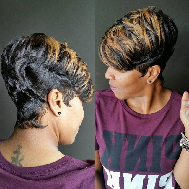 Short Styles For Black Hair 1290 Best Cuttin' Up Images On Pinterest  Short Hair Hair Cut And