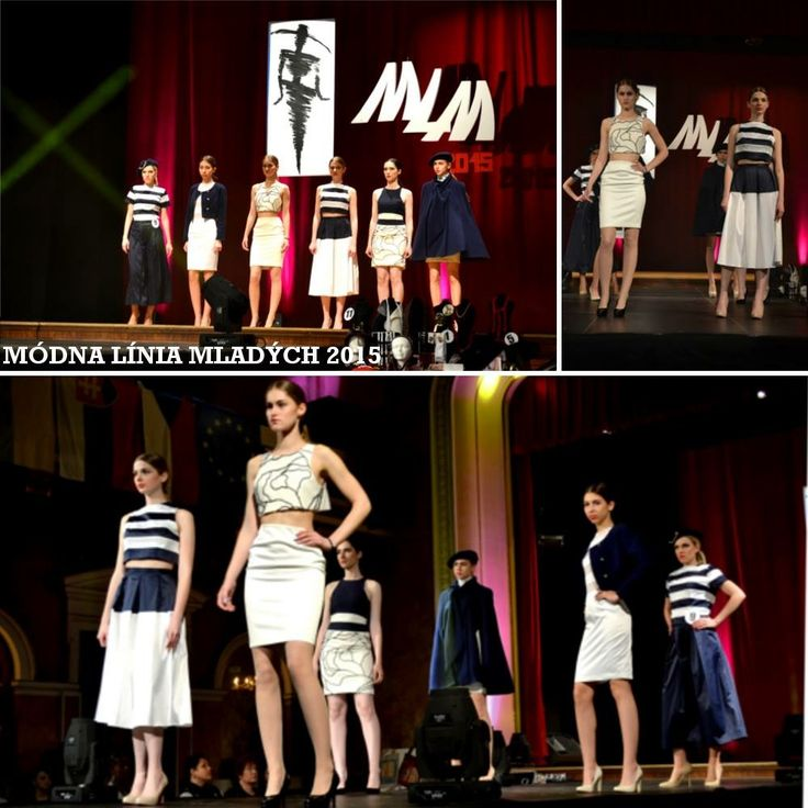 Módna Línia Mladých 2015 Prešov #fashion #competition #3rdprize #KRAL #textureofrose