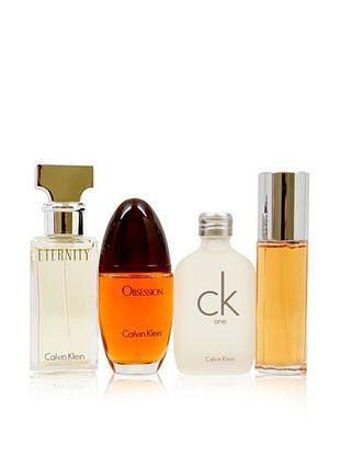 Perfumes by Calvin Klein Women's 4-Piece Variety Set
