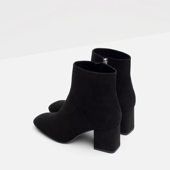 Image 5 of HIGH HEEL POINTED ANKLE BOOTS from Zara