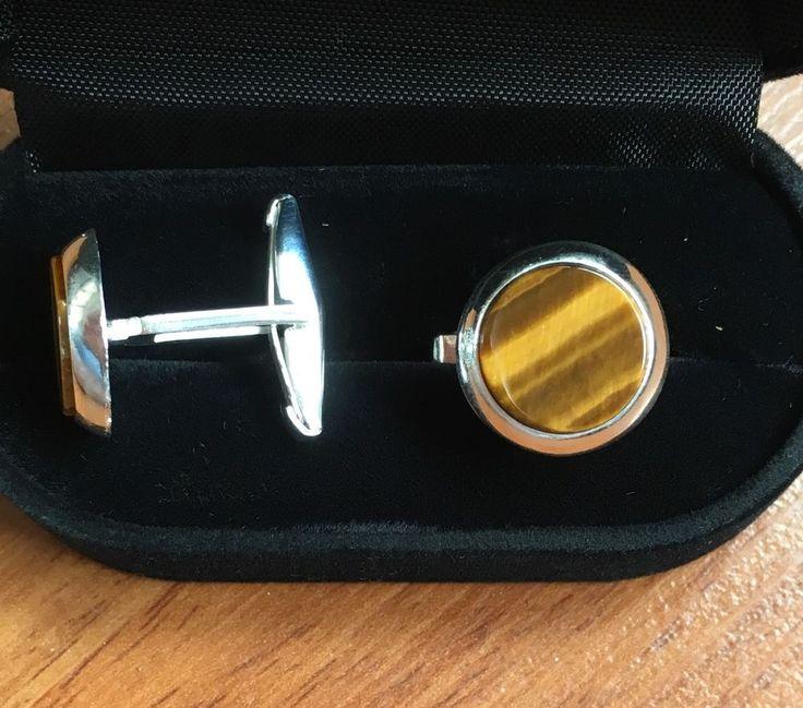 Gentle Turkish Handmade 925 Sterling Silver Round Men's Cufflinks | eBay