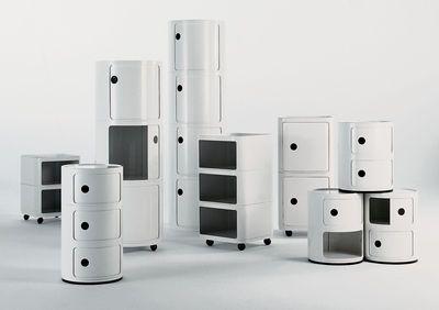 Rangement Componibili / 2 tiroirs - Kartell | Made In Design