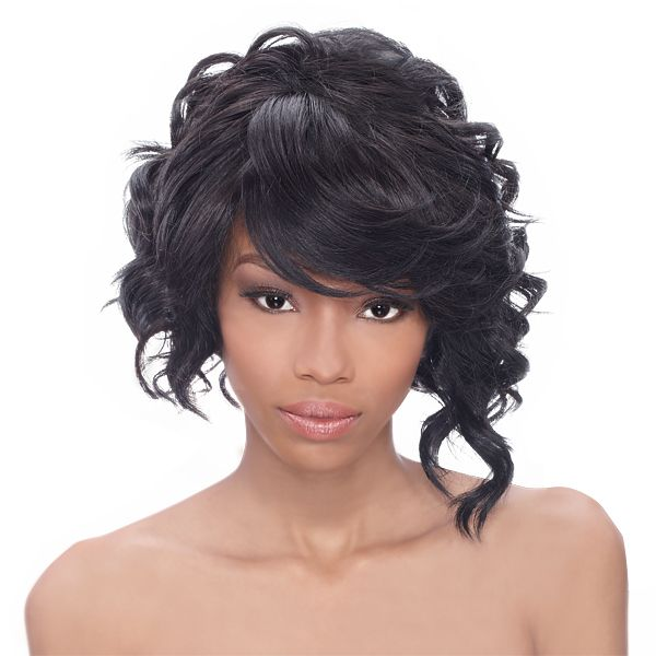 hair style for brides hairsisters outre synthetic lace front wig shorty futura 4064