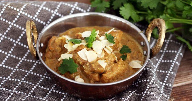 Kylling Korma er en mild og kremet karri. Prøv vår oppskrift på det mest smakfulle indiske måltidet!
