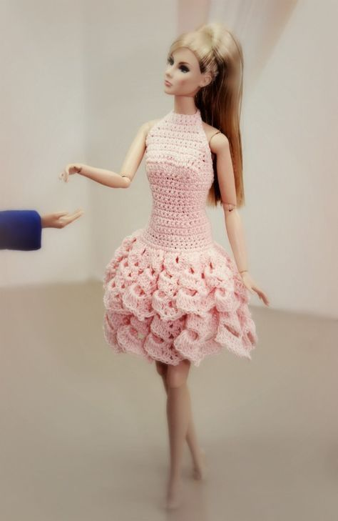 Molto 1169 best vestiti per barbie all'uncinetto images on Pinterest  VX36