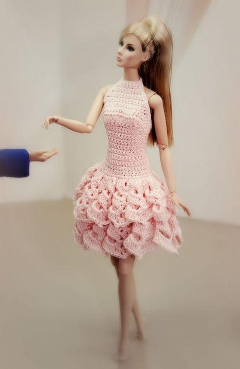 Vestito barbie rosa
