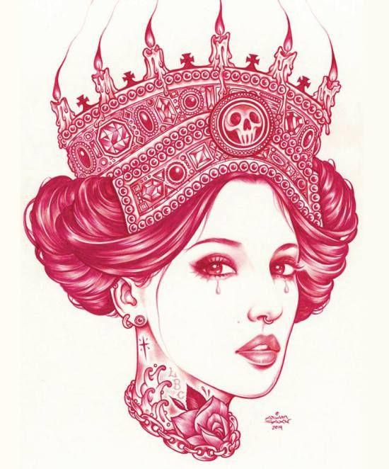 Adam Isaac Jackson, un artiste qui sublime les muses tatouées | w3sh.com