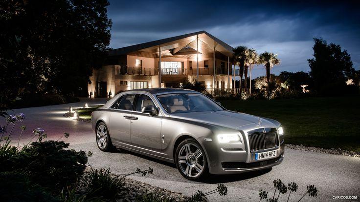2015 Rolls-Royce Ghost Series II - Front-Tapete