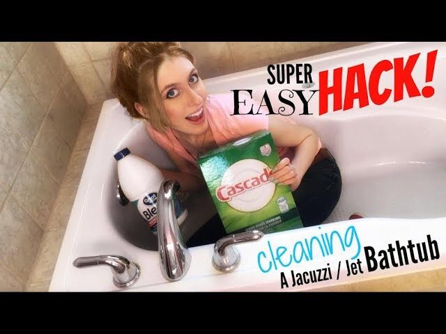 How To Clean A Jacuzzi Or Jet Tub The Easy Way Cleaning A