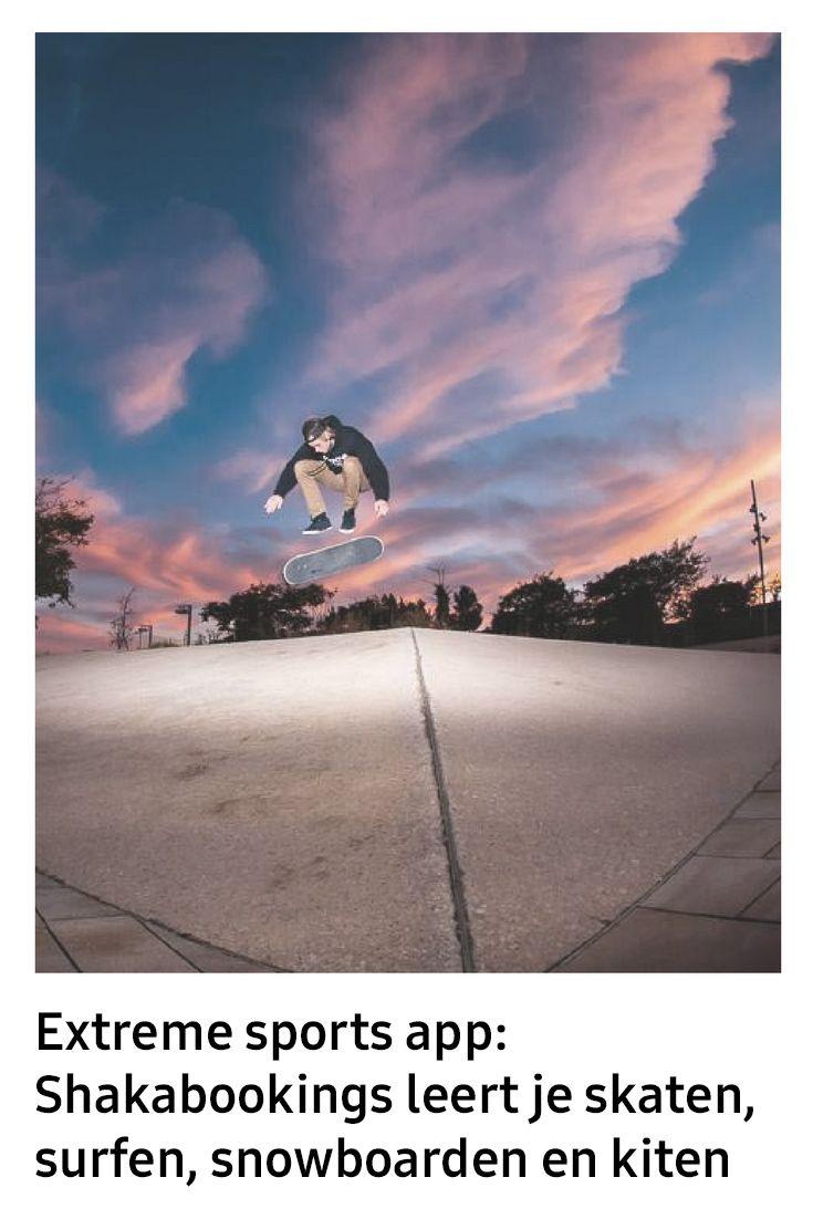 Extreme sports ontwikkelen zich snel, zowel in verscheidenheid als in populariteit. Steeds meer mensen surfen, snowboarden, skateboarden of kitesurfen. Shakabookings.com wil de diensten van tienduizend sportprofessionals, instructeurs en gidsen overal ter wereld aanbieden aan extreme sports liefhebbers en ontwikkelde daarom de eerste online bookingsapp voor extreme sporten.