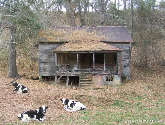 Abandoned house in Washington County, Virginia