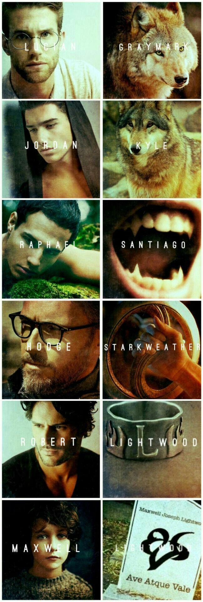 The Mortal Instruments Men