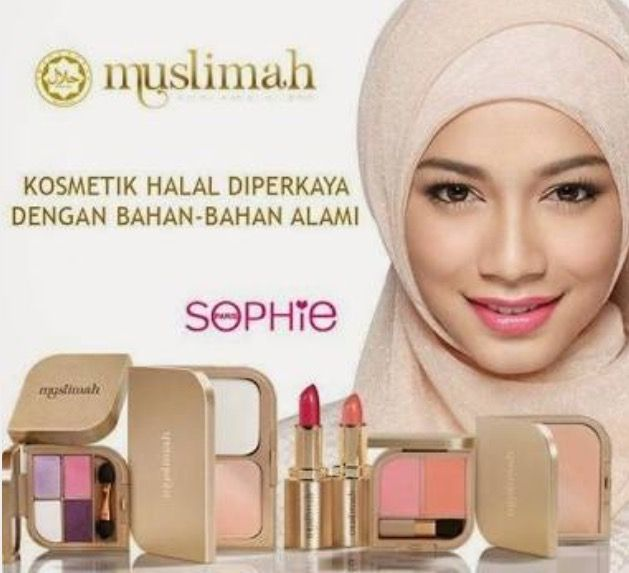 [MUSLIMAH] Multi Level Marketing company Sophie Martin Paris' Halal certified cosmetic brand [MUSLIMAH] www.sophieparis.com