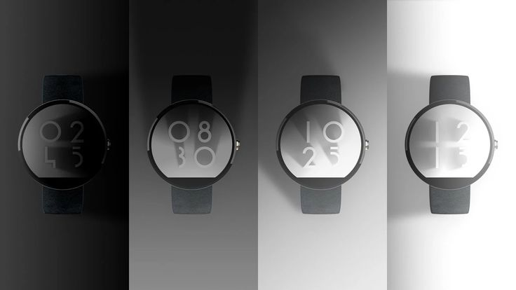 Shadow Clock Watch Face - screenshot