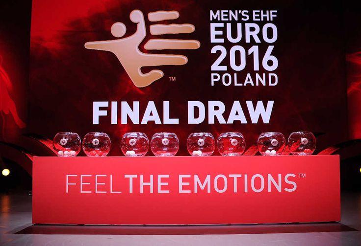 Handball-EM 2016 Polen: Gruppen-Auslosung in Krakow