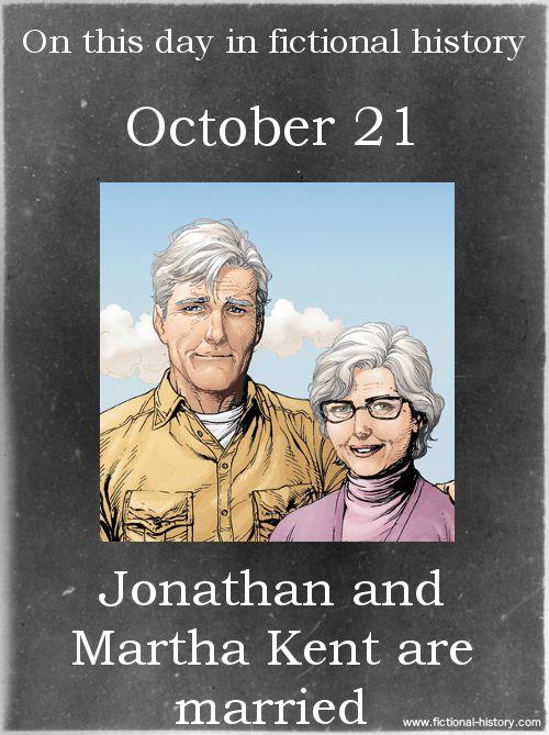 """Jonathan and Martha Kent are married."" (Source)"
