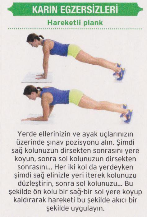 7 Günde Göbek Yağlarını Eriten Karın Egzersizleri | Kadın Sitesi - Part 5
