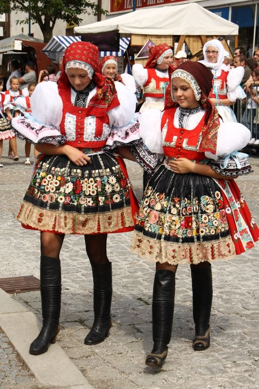 Moravanský kroj, Czech Republic