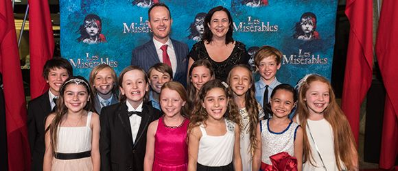 Cameron Mackintosh's acclaimed new production of the legendary Boubil and Schönberg's Les Misérables opened in Brisbane at QPAC's Lyric Theatre on Friday, November 13. Audience members were ushered into the venue by a patriotic display of the French tri-colour flag, adding to the atmosphere of the five-time Helpmann award winning production. Les Misérables is running at the Lyric Theatre until January 17, 2016.  http://www.westendmagazine.com/les-miserables-opening-night/