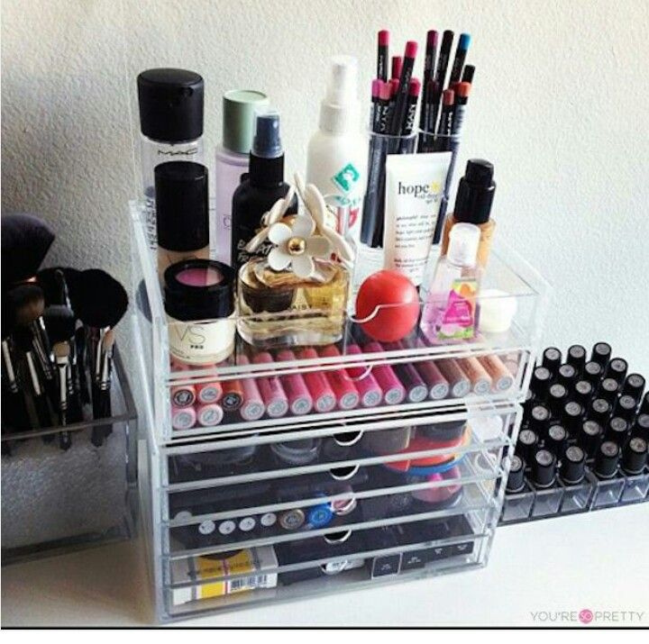 If youu0027re a makeup guru a makeup artist or just a fan of makeup altogether then you know how important it is to have and own a good makeup organizer. & The 482 best organizadores de maquillaje images on Pinterest | Make ...
