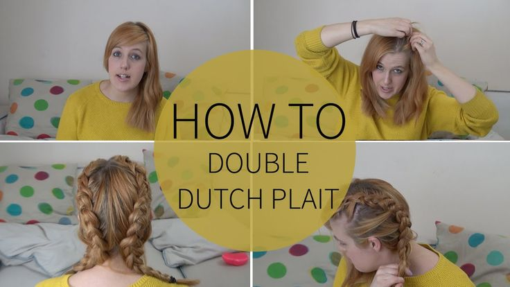 In this video I will show you how to do a double dutch plait with a knotted bun in the back.   Enjoy!❤  Previous Hairstyle Tutorials  How To: Dutch Plait/Braid | Sara Steele https://www.youtube.com/watch?v=nVPwdcHv8h0  How To... Do A Messy Bun | Sara Steele https://www.youtube.com/watch?v=FoeQba-TiFQ ________________________________________­__   Thank you so much for watching! ❤  Music from www.bensound.com
