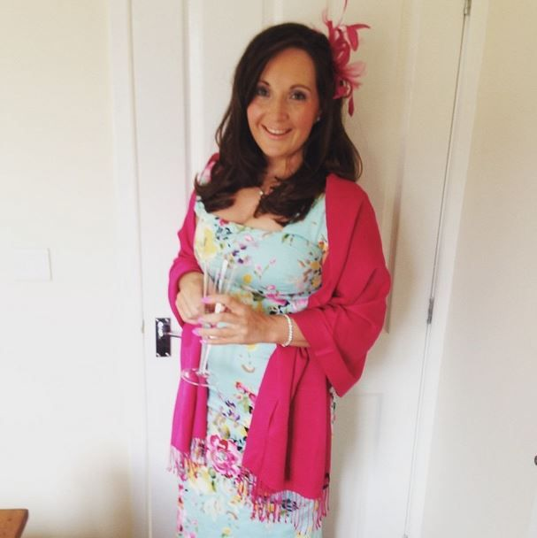 Customer Jane Perfected Wedding Guest Chic In Our Seville Mint Cara Pencil Dress Fashion Style