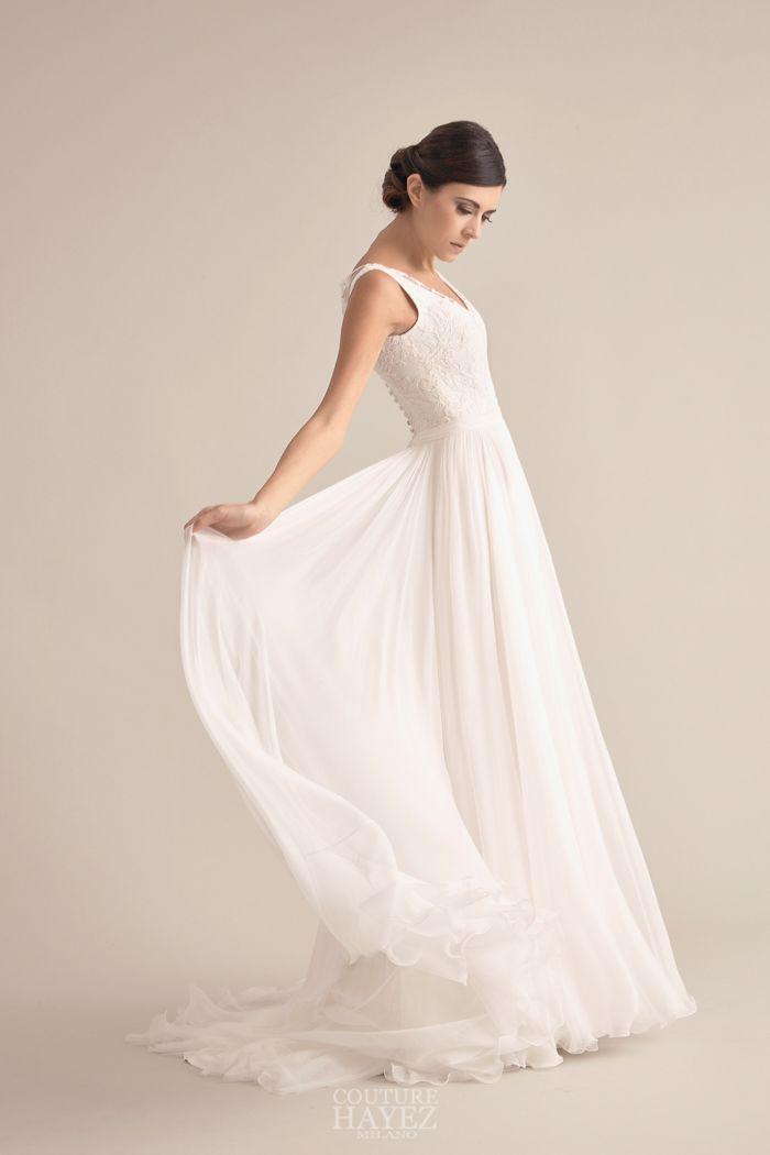 abito sposa in georgette di seta 46c1ae4fc3a
