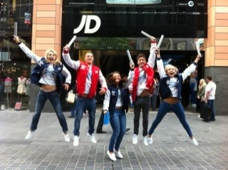 The Torch route hits Liverpool and the team are very excited. You can pick up the Team GB jacket for only £50 in our Team GB microsite.
