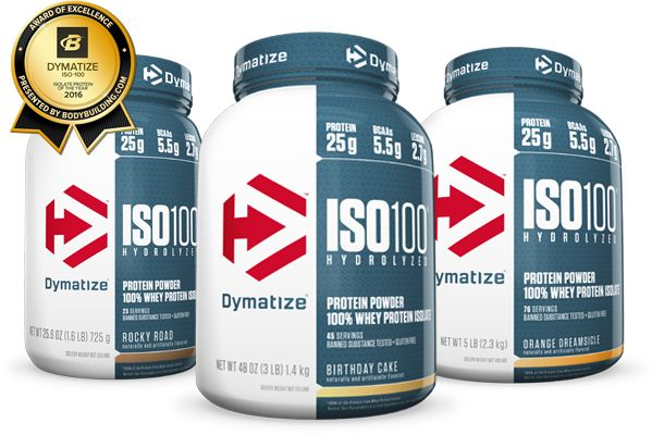 Dymatize - ISO 100 - 2.2 kg - Protein Outlet