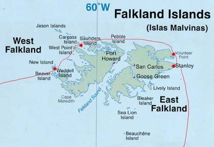 Antarctic Voyage - January 20: Stanley, Falkland Islands