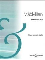 MACMILLAN J. - PIANO TRIO 2 Score and parts - € 35,00 Kamermuziek klassiek, Viool/Cello/Piano, BOOSEY 9790060132971