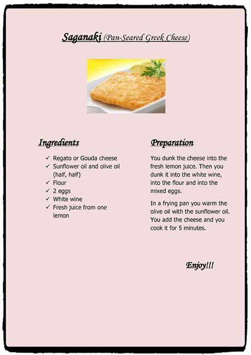 #Saganaki - (Pan-Seared Greek Cheese). Serve this as an appetizer, as an hors d'oeuvre, or as part of a meal made up of a varied selection of mezethes...Bon Appétit!!