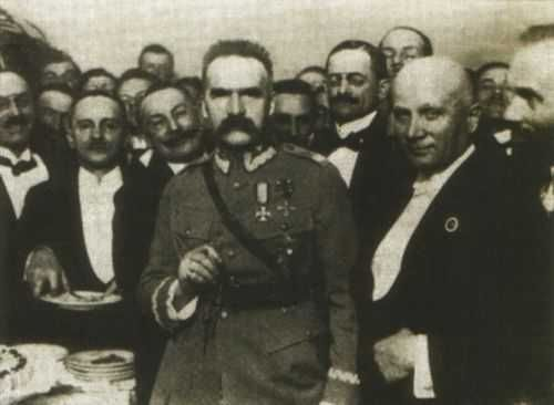Pilsudski in Bristol - Józef Piłsudski - Wikipedia, the free encyclopedia