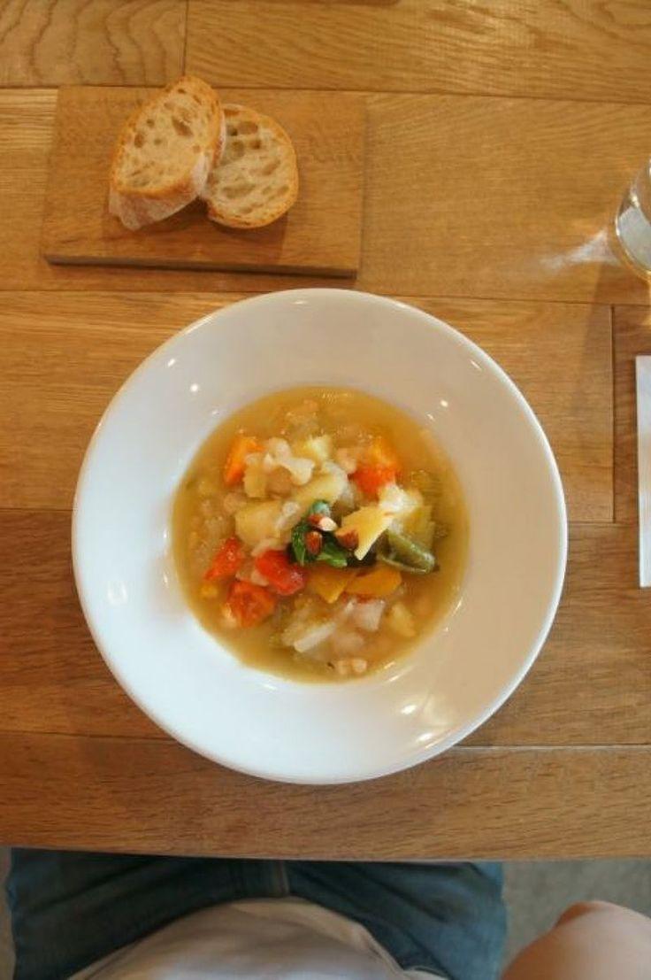 前田直宏さんのブログ 西荻窪のくしま食堂さまのスープランチ | レシピ ... パスタとスープが選べたので、スープにしてみました。「キウイ、メロン、きゅうりのハーブサラダ」、「茄子のピーナッツ豆腐和え」、「ズッキーニとパプリカの夏の ...