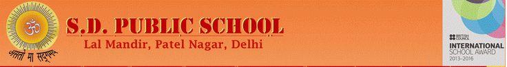 S.D. Public School, Patel Nagar Metro Station in New Delhi, Delhi