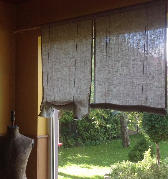 Window blind / roll up blind / tie up blind / by BicoEstonia