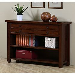 @Overstock - Update your home decor with a new console table  Map console table is finished in a walnut cherry color  Living room furniture features metal extension drawer glideshttp://www.overstock.com/Home-Garden/Walnut-Cherry-Navigator-Console-Table/4232054/product.html?CID=214117 EUR              350.37