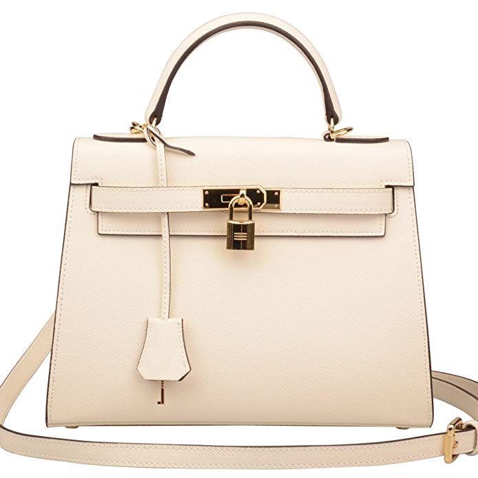 a0aec3e9f37d Ainifeel Women s Padlock Shoulder Handbags Purse Satchel Purse Hobo Bag  Review