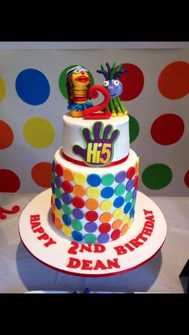 Hi 5 Cake