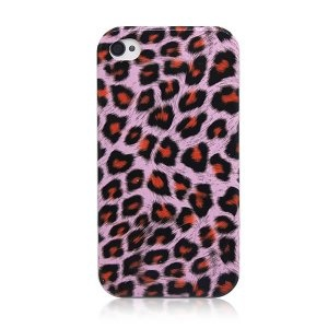 Case-Max Fashion Leopard Protective Case for iPhone 4/4S