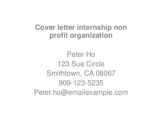 your resume and cover letter motivation demonstrates show offers - cover letter for non profit